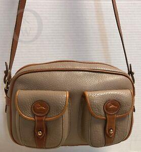 *Vintage*Dooney & Bourke*Taupe*R85*AWL*Explorer Crossbody/Shoulder Bag*19062H