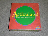 ARTICULATE GAME - By DRUMOND PARK - IN VGC (FREE UK P&P)