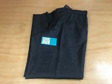 TED BAKER LONDON PINSTRIPED DRESS PANTS DARK GRAY PURPLE MEN'S 37R INSEAM 30