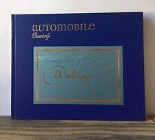 Automobile Quarterly: Delage Volume XIV, Number 2, Second Quarter 1976 Hardcover