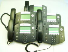 Lot Of 5 Polycom Soundpoint Ip 550 Sip Voip Phones
