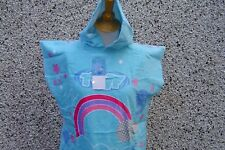TWF Kids Poncho Hooded Beach/Swimming/Surf/Changing towel  New Girls Design