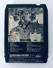 The Beatles Revolver 8 Track Tape Cassette Capitol Records Custom Label 8XT 2576