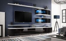 Spokane - entertainment center cabinet / living room modern tv wall unit