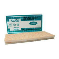 5box 500 HuanQiu Skin Ear Acupuncture Disposable intradermal Tack Press Needles