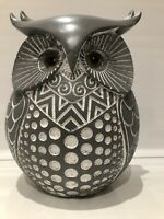 Shudehill Giftware Grey Large Country Decorative OWL Ornament Figurine