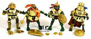 Teenage Mutant Ninja Turtles TMNT Golden Ninja Knight Figure Lot 2005