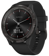 Garmin Vivomove 3 Smart Watch Silicone Band Black/Slate Grey 010-02239-01
