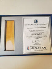 Dallas Mavericks Collector's Piece of Championship Basketball Court