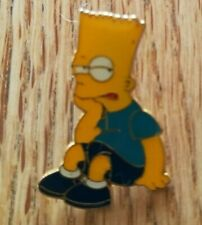 The Simpsons Bart Simpson Enamel Pin Badge Matt Groening Fox Bored