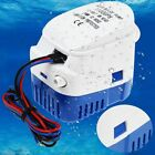 12v 1100gph Automatic Submersible Boat Bilge Water Pump Float Switch Us Seller