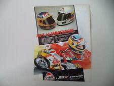 advertising Pubblicità 1987 CASCO HELMET JEB'S