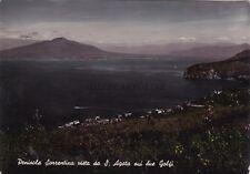 SANT'AGATA SUI DUE GOLFI - Vista della Penisola Sorrentina 1952