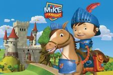 MIKE THE KNIGHT POSTER ~ CASTLE 24x36 Cartoon Nickelodeon