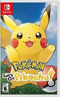 Pokemon: Let's Go, Pikachu! Nintendo Switch
