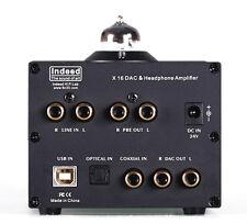 X16 DAC value Headphone Amplifier OpticalCoaxialUSBDecoder GE5814WA  NOS tube