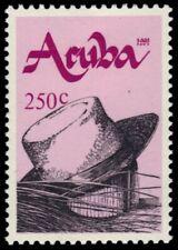 "ARUBA 74 - Handicrafts ""Straw Hat and Hat Block"" (pb18746)"