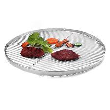 Grillrost Edelstahl 50 cm rund mit Löcher für Hacken Dreibein Schwenkgrill BBQ