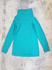 Women's Arcteryx Desira Tunic Turtleneck Warm Sweater Green size MEDIUM