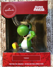 "2020 Hallmark Ornament Red Box Nintendo Super Mario Bros ""Yoshi� - New"
