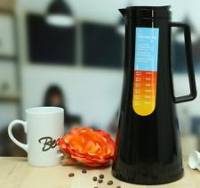 """BODUM """"Bistro"""", Thermoskanne, schwarz, 1,10 Liter, thermos flask"""
