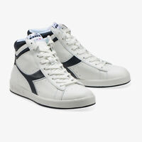 SCARPE DIADORA UOMO GAME P HIGH 101.1620277 01 C4656 BIANCO WHITE DENIM ORIGINAL
