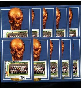 /// 10X ST.VINCENT - MNH - SPORTS - SOCCER - WORLD CUP - MEXICO 1986