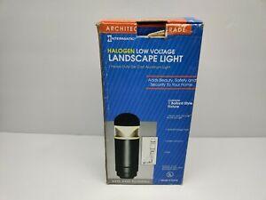 NIB Vintage Intermatic  METAL Low Voltage Light Bollard CL635 F