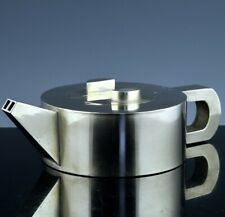 CHINESE SILVER & BRONZE YIXING DESIGN DOUBLE SPOUT WINE POT TEAPOT HALLMARKED 3