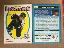 Brad Richards 2001-02 O-Pee-Chee Heritage Retro #64 - Tampa Bay Lightning