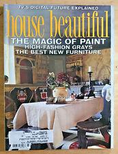 House Beautiful Magazine 1999 Jeffrey Bilhuber Nancy Braithwaite Robert Hammond