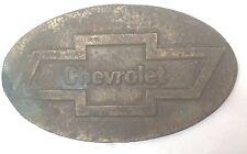 CHEVROLET Fibbia della Cintura PLACCA vintage americano retrò classico fresco