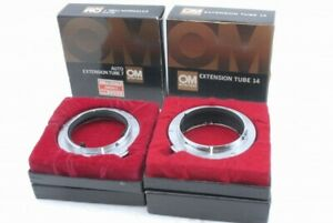 Mint Olympus OM System Auto Extension Tube Ring Set 7mm 14mm *KH5128