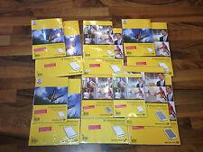 Versandtaschen Umschläge B4 B5 C4 C5,  3 St. bzw 10 St.! mit ohne Fenster Pappe