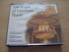300 YEARS OF GLORIOUS MUSIC - (READER'S DIGEST) - 3XCD ALBUM BOXSET - EXCELLENT