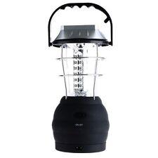 Brillante Carico & Solar 36 LED Lanterna Da Campeggio USB Festival Tenda Lampada