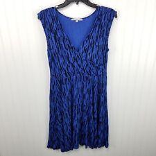 GAP Dress Blue Back Sleeveless Jersey Knit Womens Size Medium Casual Mini