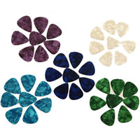 30/100 Pcs Smooth  Celluloid Guitar Picks Plectrums 0.71mm Hot Sale