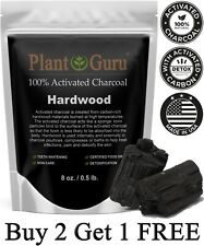 Activated Charcoal Powder 8 oz. HARDWOOD 100% Food Grade Organic Teeth Whitening