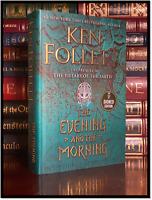Evening And The Morning ✎SIGNED✎ by KEN FOLLETT 1st/1st Hardback Pillars Earth