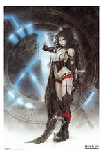 (LAMINATED) LUIS ROYO PINUP POSTER (61x91cm) GOTHIC MACHINE GIRL PICTURE PRINT