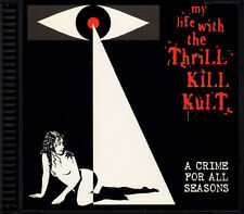 My Life With The Thrill Kill Kult Crime For All Seasons CD 1997 Goth Industrial