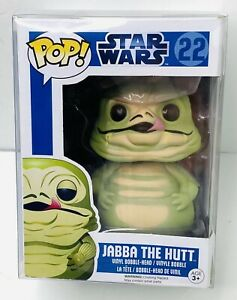 Funko Pop Star Wars Jabba the Hutt Pop! Vinyl Bobble Head #22 New With Protector