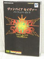VAMPIRE SAVIOR Perfect Guide Sega Saturn Book SB70*