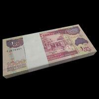 Bundle Lot 100 Pieces, Somaliland 1000 Shillings, 2014/2016, P-20 NEW Sign, UNC
