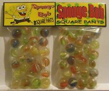 2 Bags Of Sponge Bob Square Pants Cartoon Promo Marbles