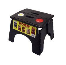 Black EZ-Fold Step Stool for RV / Camper / Trailer