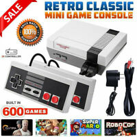 Built-in 620 Classic Games Handheld 4 Keys Mini Games Console Gifts for NES(EU)