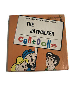 8mm Home Movie The Jaywalker Silent Edition Cartoons Columbia Pictures