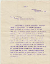 1926 pair of letters - 1 signed by Edward Bruce 10th Earl of Elgin